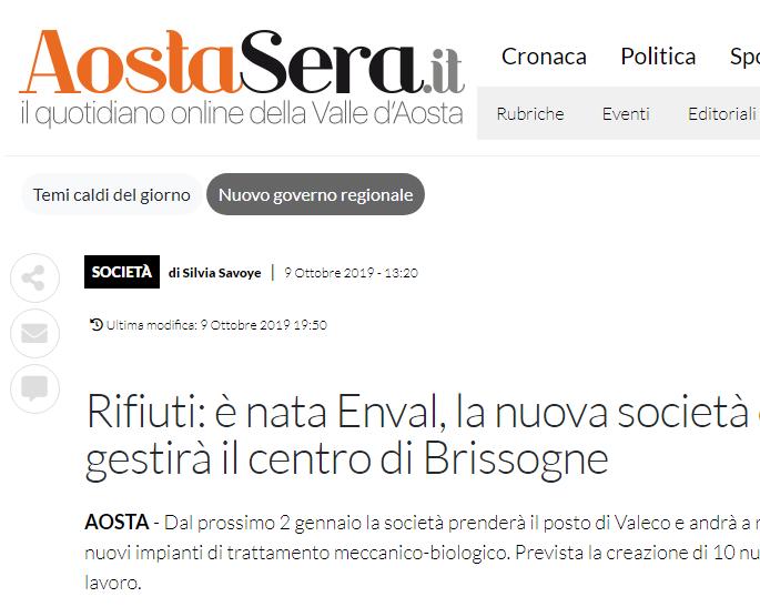 FireShot Capture 034 – Rifiuti_ è nata Enval, la nuova società che gestirà il centro di Bris_ – aostasera.it